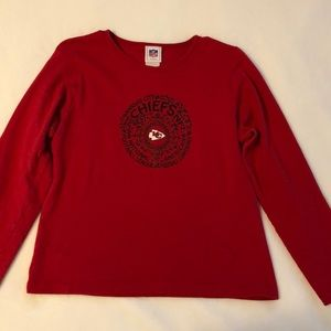 KANSAS CITY CHIEFS LONG SLEEVE TEE